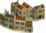 Small buildings: Houses, chalets, etc